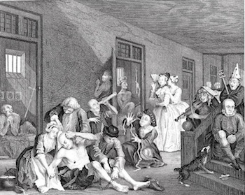 Hogarth_Scene-in-Bedlam