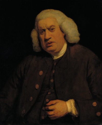 Doctor Samuel Johnson ?1772 by Sir Joshua Reynolds 1723-1792
