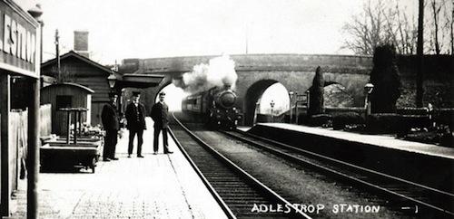 Adlestrop-station