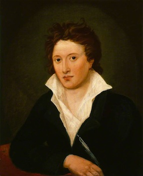 Curran, Amelia, 1775-1847; Percy Bysshe Shelley