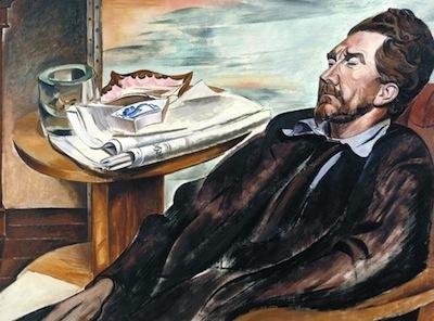 Ezra Pound 1939 by Wyndham Lewis 1882-1957