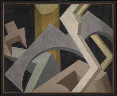 Abstract Composition c.1915 by Jessica Dismorr 1885-1939