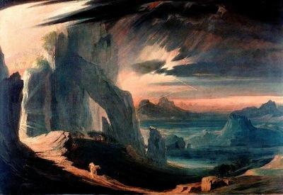 Martin, John, 1789-1854; The Expulsion of Adam and Eve from Paradise