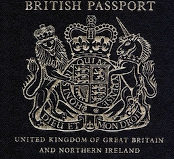 Blue-passport