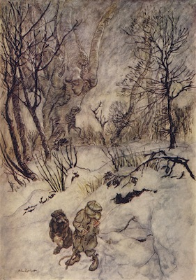 Rackham-WindWillows-Snow
