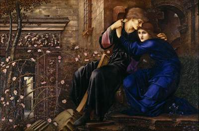 Burne-Jones, Edward, 1833-1898; Love Among the Ruins