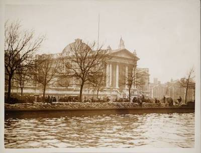 Tate Britain after flood of 1928