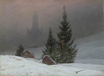 Friedrich, Caspar David, 1774-1840; Winter Landscape