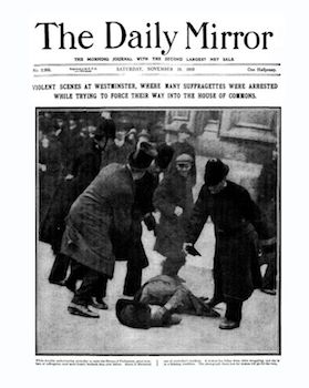 Daily-Mirror-Front-Page-Published-Saturday-19th-November-1910