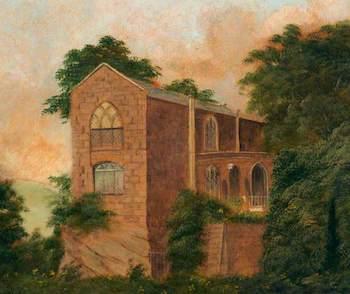 Sadler, John, 1843-1908; The Anchorite's Cell, Chester