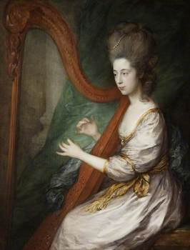 Gainsborough, Thomas; Louisa, Lady Clarges (1760-1809); Victoria Art Gallery; http://www.artuk.org/artworks/louisa-lady-clarges-17601809-40010