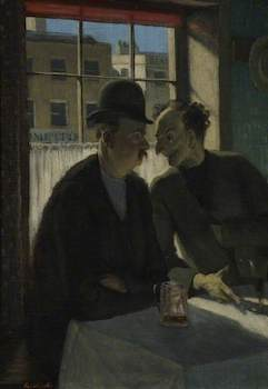 Whistler, Rex; The Foreign Bloke; Victoria Art Gallery; http://www.artuk.org/artworks/the-foreign-bloke-40424