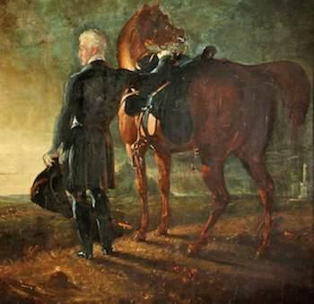 Haydon, Benjamin Robert, 1786-1846; Wellington on the Field of Waterloo