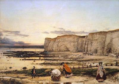 Dyce, William, 1806-1864; Pegwell Bay, Kent - a Recollection of October 5th 1858