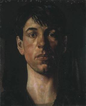 Self-Portrait 1914 by Sir Stanley Spencer 1891-1959