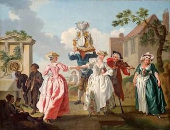 Hayman, Francis, 1708-1776; Mayday (The Milkmaids' Garland)