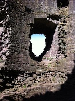Sky-through-stone
