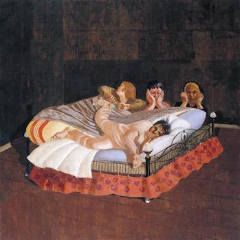 The Centurion's Servant 1914 by Sir Stanley Spencer 1891-1959