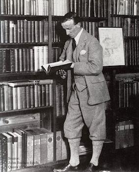 JB_Buchan_in_library