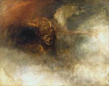 Turner, Joseph Mallord William, 1775-1851; Death on a Pale Horse (?)