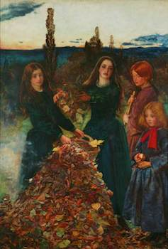 Millais, John Everett, 1829-1896; Autumn Leaves