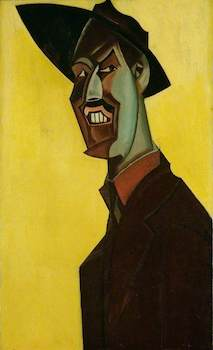 Lewis, Wyndham, 1882-1957; Mr Wyndham Lewis as 'Tyro'
