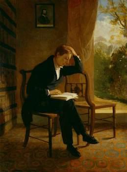 Severn, Joseph, 1793-1879; John Keats