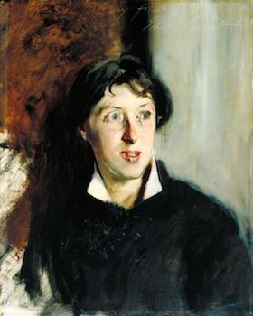 Vernon Lee 1881 by John Singer Sargent 1856-1925