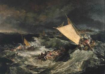 Turner, Joseph Mallord William, 1775-1851; The Shipwreck