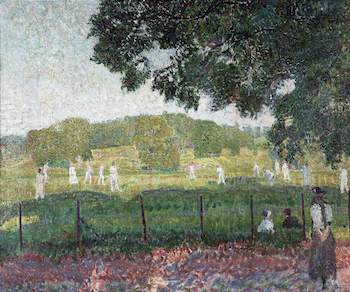 Gore, Spencer, 1878-1914; The Cricket Match