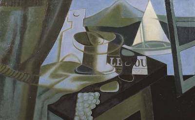 Overlooking the Bay 1921 by Juan Gris 1887-1927