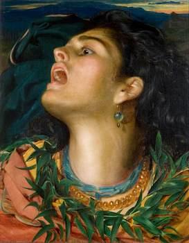 Sandys, Frederick, 1829-1904; Cassandra