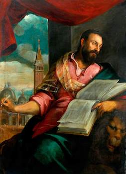 Palma il giovane, Jacopo, 1544/1548-1628; Saint Mark