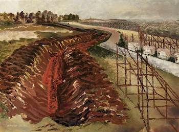 Richards, Albert, 1919-1945; Anti-Tank Ditch