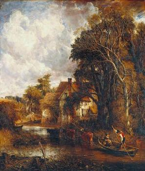 The Valley Farm 1835 by John Constable 1776-1837
