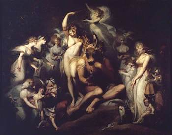 Fuseli, Henry, 1741-1825; Titania and Bottom