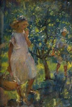 Tonks, Henry, 1862-1937; The Orchard