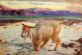 Hunt, William Holman, 1827-1910; The Scapegoat